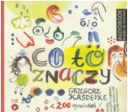 CO TO ZNACZY (Audiobook)(CD-MP3)